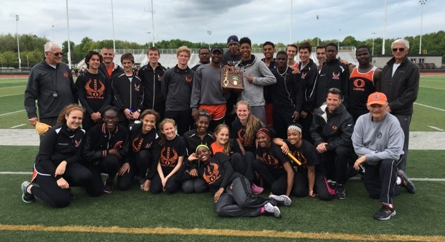 Boys Track Team- District Champs