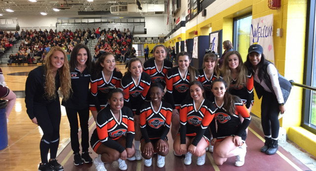 OHS Cheer Performed at 1st Annual CVC Cheer Showcase