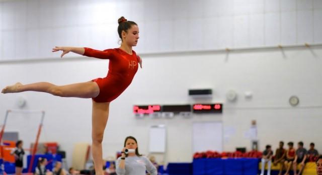 Lady Raiders Gymnastics Team continue season