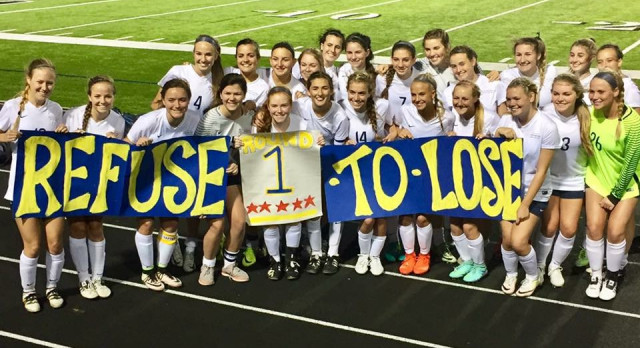 Lady Scots Soccer Wins Round 1 of Playoffs!