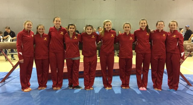Lady Raider Gymnasts shine at Districts