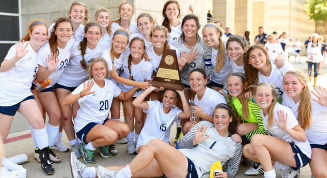 Soccer State Sendoff Wed at 10am