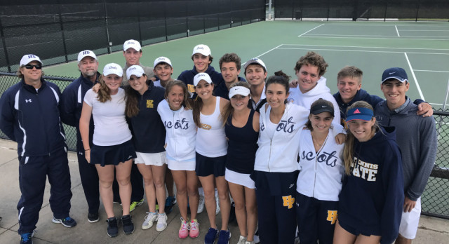 HP TENNIS DOMINATES DISTRICT