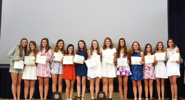Lady Scots Track/Field Banquet Awards