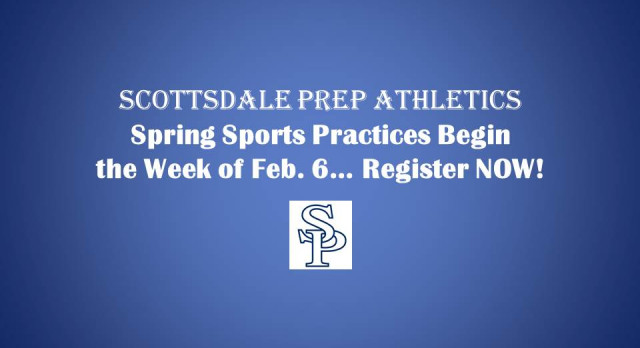 Register Now for Spring Sports!