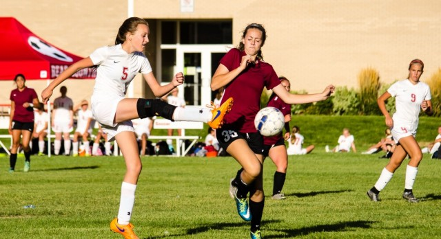 Bear River High School Girls Varsity Soccer falls to Logan High School 4-1