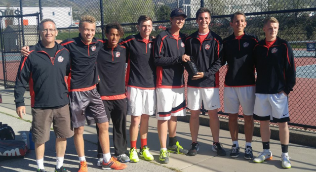 Tennis Team Continue With Winning Ways