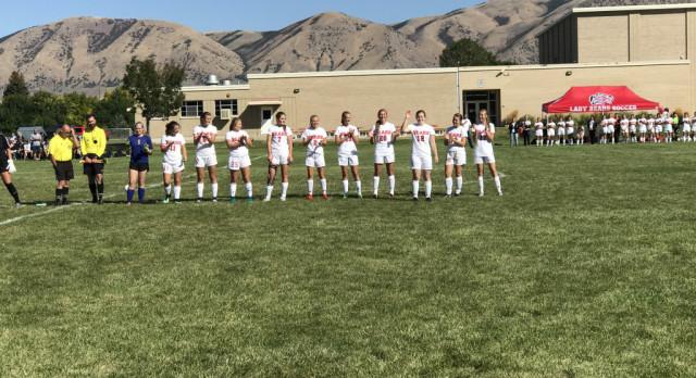 Girls Soccer A Team With Class