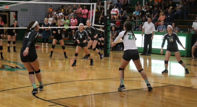 College Heights Defeat the Lady Eagles in a Tight Three Sets
