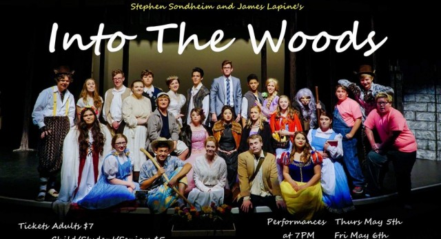 Roy High Students are Going Into the Woods