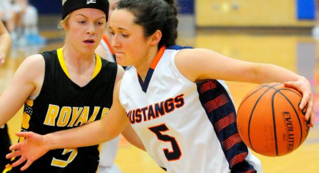 Roy High School Girls Varsity Basketball beat Mountain Crest High School 53-47