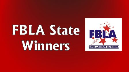 FBLA Members are State Winners