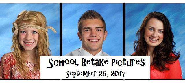School Pictures – Retakes and Makeup Picture Day