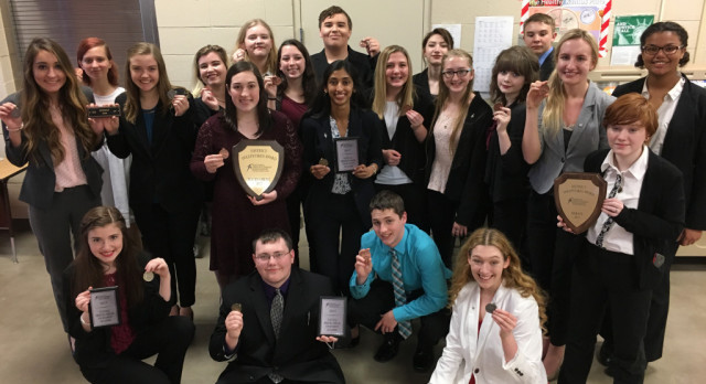 PHS Forensics Goes Big at National Qualifiers Tourney