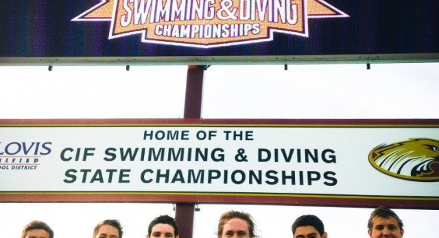 Mission Viejo Boys' Swim at State Finals!