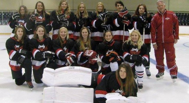 Unified Girls' Hockey Team Supporting Jail & Bail this weekend