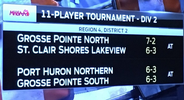 Northern to face GPS in Playoffs