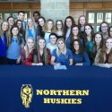 PHOTOS:  Bowerman signs to play volleyball @ SC4 2/23/17