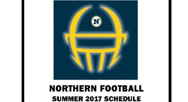 NORTHERN FOOTBALL SUMMER 2017 SCHEDULE