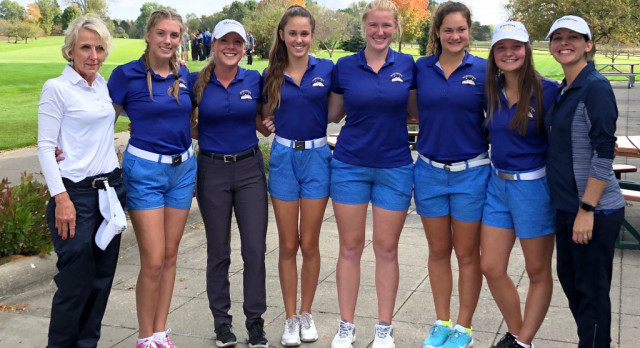 GIRLS GOLF IS HEADED TO STATE FINALS