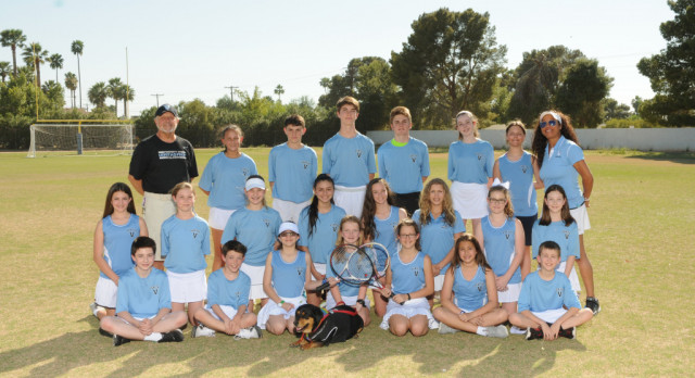 Boys Middle School Tennis Wins GHMSL Championship!