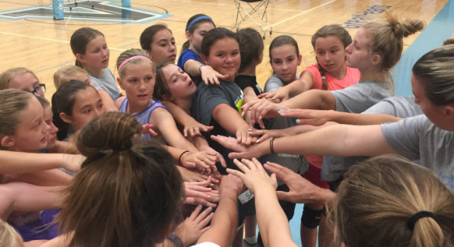 Middle School Volleyball Camp BIG SUCCESS!