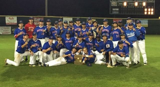 Bartlett Wins Region 7-AAA Championship