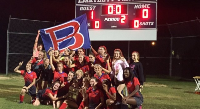Lady Panthers Claim District Title
