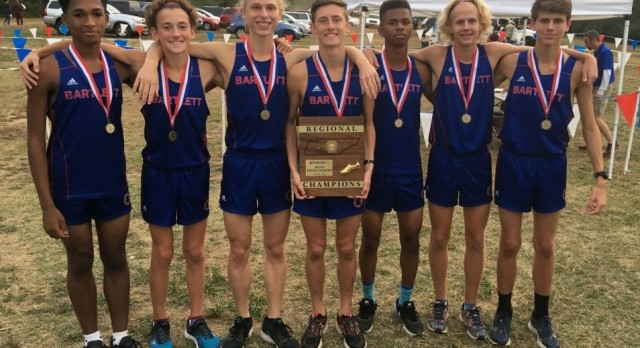 Boys XC to State!