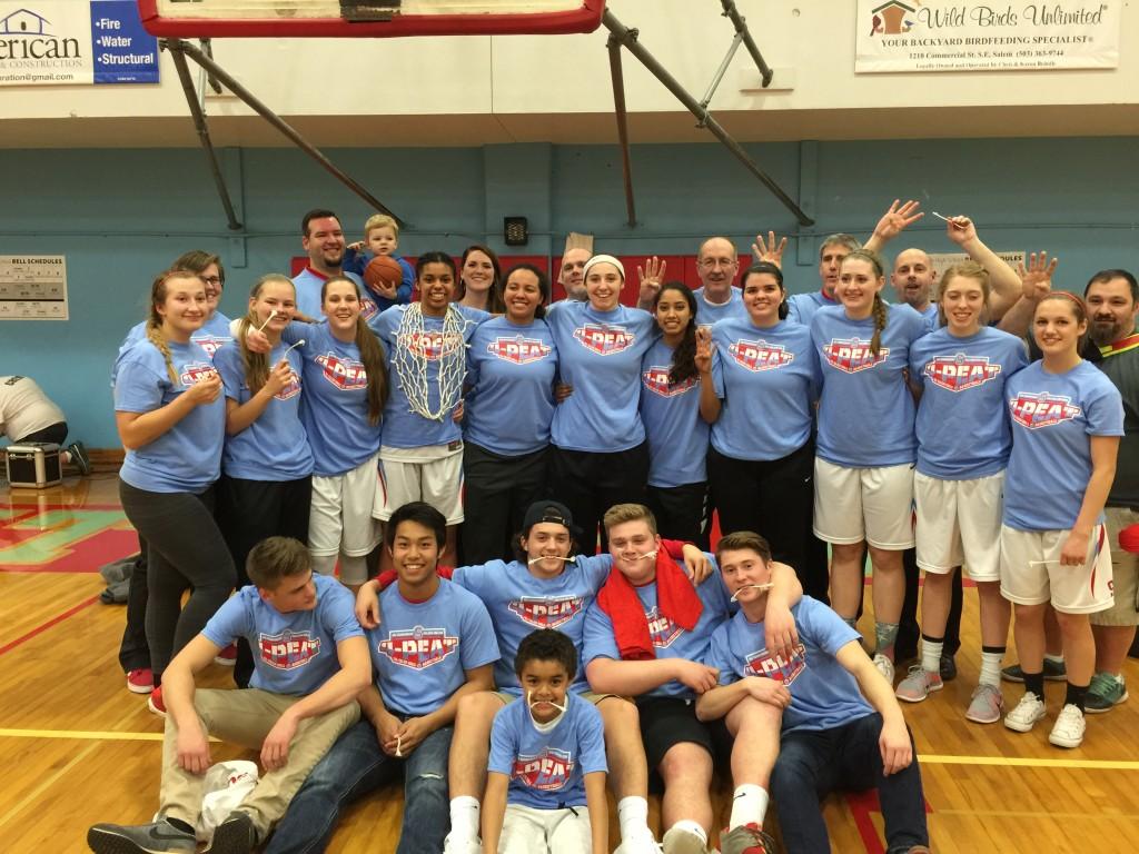South Salem High School Girls Varsity Basketball beat Sunset High School 55-48