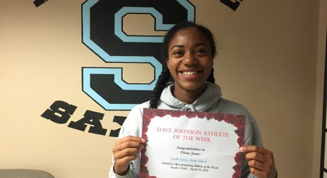 Dave Johnson Athlete of the Week April 18th- 22nd