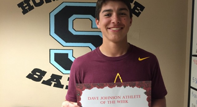 Dave Johnson Athlete of the Week April 11th- 15th