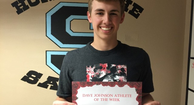 Dave Johnson Athlete of the Week March 28th -April 1st