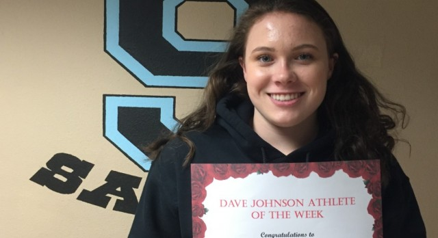 Dave Johnson Athlete of the Week April 4th- 8th