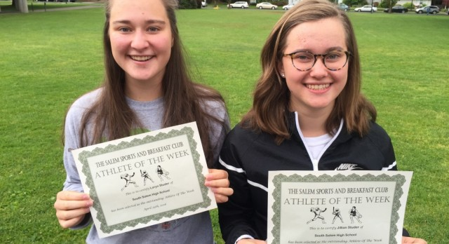 Studer Duo Recognized by Salem Sports and Breakfast Club