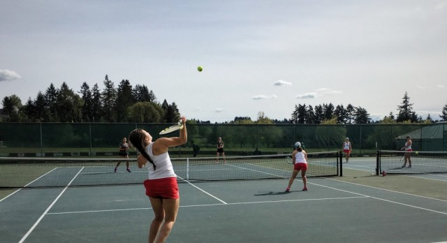 Saxon Tennis Off to a Hot Start