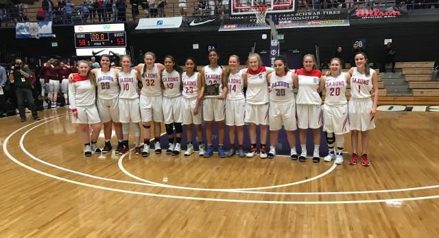 South Salem High School Girls Varsity Basketball beat Grant High School 58-53