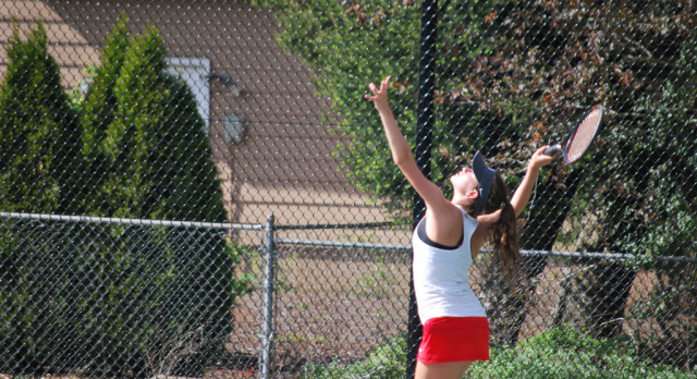 Three Saxons Named to SJ All Mid-Valley Tennis Team