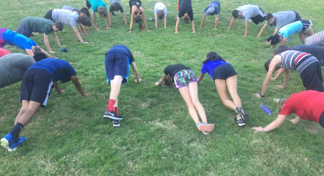 Cross Country Practice August 1st & 3rd