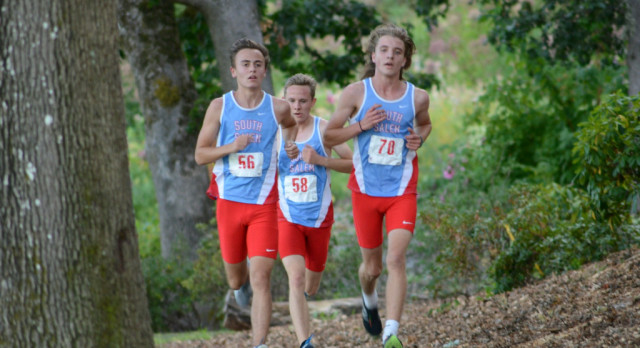 South XC Sweeps Mckay & West Albany