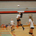 2017 JV Volleyball vs McMinnville