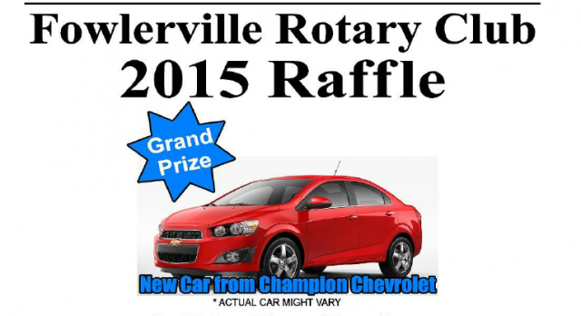 UPDATED Fowlerville Athletic Booster/Rotary Raffle