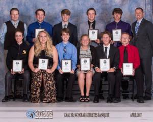 CAAC Scholar Athletes 2017