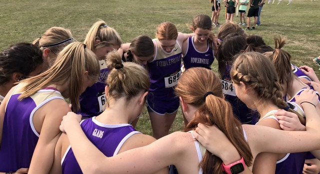 Fowlerville Girls Place 2nd at CAAC White Jamboree #2