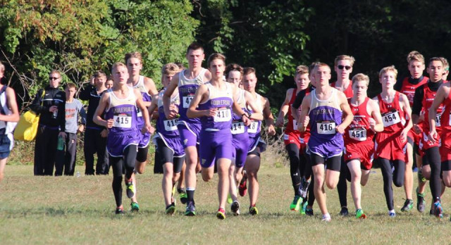 Gladiator Boys race strong; place 2nd at CAAC Jamboree #2