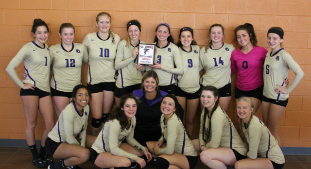 Volleyball 2nd at St. Johns Invite!