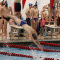 Sartell Sabre Boys Swim/Dive vs Alex