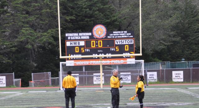 San Mateo High School Girls Varsity Soccer ties Half Moon Bay High School 0-0