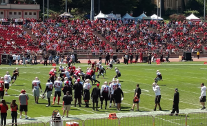 49ers at Kezar