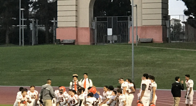 San Mateo High School Junior Varsity Football beat Mission-SF 20-12